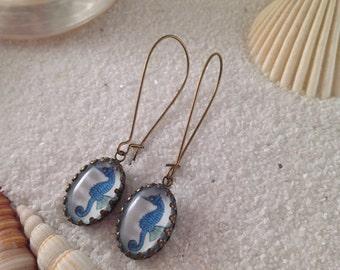 Seahorse Necklace - Earrings - Hairpins - Ring  Seahorse Jewellery - Beachwear - Nautical Jewelry - Beach Jewelry