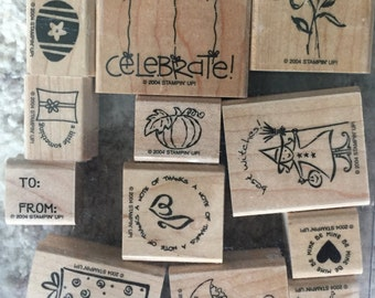 Stampin' Up! Tag Time, set of 14
