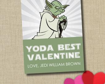 Star Wars Valentine. Yoda Valentine
