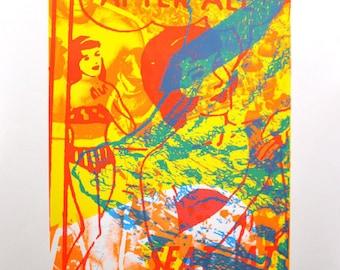 Real Man, silkscreen art print, 26 x 35.75 inches
