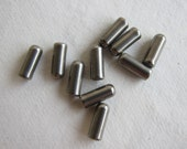 10x4mm Stainless Steel Hat Pin Clutch, with White Silicone Liner - Available in 2, 4, 6 & 10 Clutch Pkgs and in Larger Pkgs