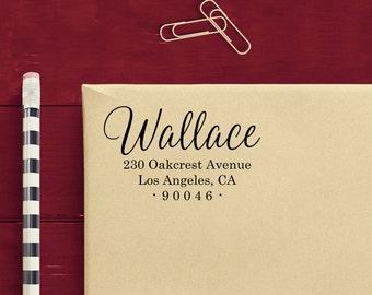 Personalized Address Stamp - Custom Self Inking Return Address Stamp