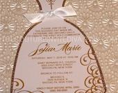 Custom Listing for Paula - First Holy Communion Invitation