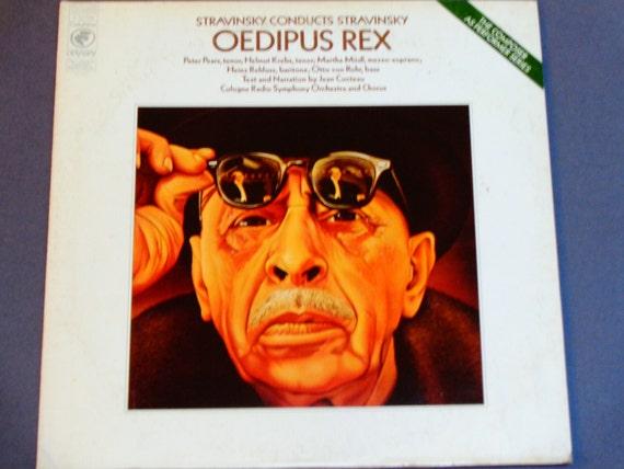 Oedipus Rex Stravinsky Conducts Stravinsky Cologne Radio