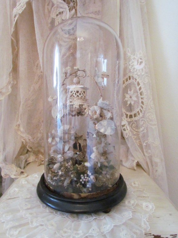 Glass Dome For Cake Topper