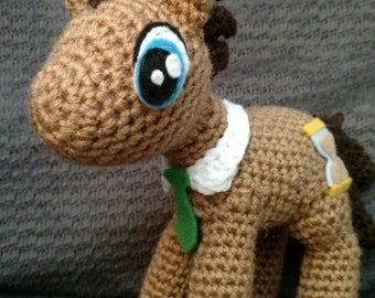 Doctor Whooves Pony Crochet Pattern