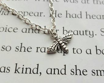 Firefly Lightning Bug Necklace