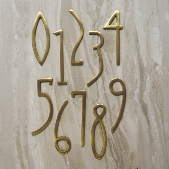 house numbers and letters deco matte brass house door numbers letters 22136 | il 570xN.1023289366 6zbm