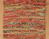 Hand Woven Table Runner - Spicy October Cotton 13 x 23