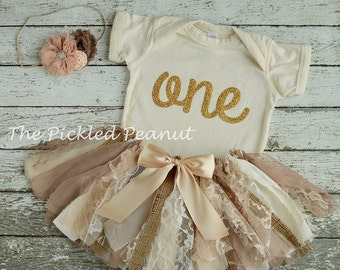 Vintage Baby Outfit Shabby Chic Baby Outfit 1st Birthday Outfit Vintage Baby Dress Lace Tutu Vintage Tutu Shabby Chic Birthday Dress
