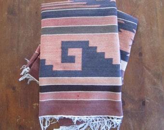 Vintage Handwoven Ecuadoran Rug/Tapestry