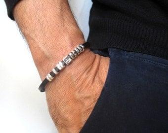Kabbalah jewelry artisan handmade cuff bangle amulet bracelet i am beloved 72 names of god talisman