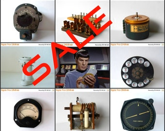 SALE ... Steampunk Ham Amateur Radio DIY Vintage Antique Restoration Aircraft Collectible