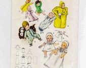 Baby Kimono Pattern, Petticoat, Dress, Layette, Sleep Sack, Bonnet, Baby Jacket, Christening Outfit, Baby Clothing Pattern