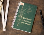 """Hardcover Notebook Tartuensis College """"Hayfield"""" from Discarded Book Covers"""