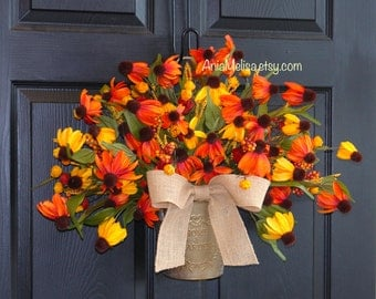 summer wreath fall wreaths welcome front door wreaths outdoor wreaths decorations birch bark basket welcome wreaths gift ides with love