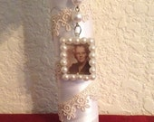 MEMORIAL...BOUQUET...CHARM...In Loving Memory Charm