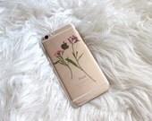 Pressed Flower and Fern Interchangeable Case iPhone 6 / 6S / 6 Plus Case Spigen® Ultra Hybrid® Pressed Flower Iphone 5/5c/6/6s Case