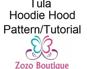 Tula Hoodie Hood Pattern and Tutorial - Basic