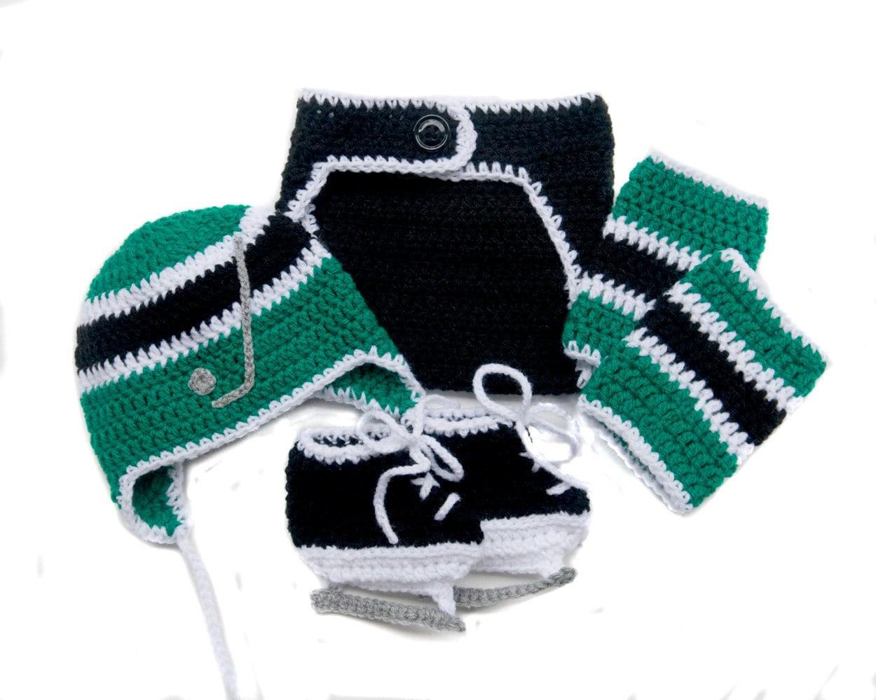 BABY HOCKEY BOYS Grandmabilt Crochet Hockey Hockey Baby Boy