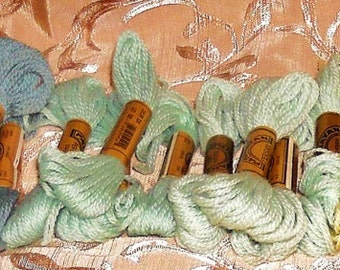 8-Yd Strand Skeins Paternayan 100% Persian Wool 3-Ply Tapestry Yarn - Your Choice of Several Colors Available