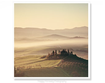 Housewarming Gift Idea, Tuscany Wall Art Decor, Fine Art Photography Print, Gold Warm Art, Tuscan Art