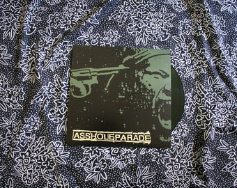Asshole Parade - Embers - Punk Colored Vinyl LP Record Album - No Idea Records Rare Power Violence Thrash Classic. Limited Pressing of 250