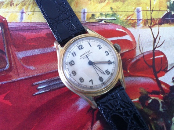 americus men The americus watch company was founded in 1916, and in business through 1951 in detroit, michigan they were a dealer in.