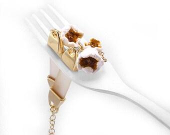 SALE - Popcorn Bracelet, Food Jewelry,  Popcorn Jewelry, Scented Bracelet, Polymer Clay Food, Foodie gift,Snack Jewelry,Teenager Gift,Food B