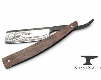 Handmade Custom Straight Razor Kit Made to Order