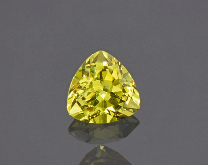 Bright Yellow Grandite Garnet Gemstone from Mali 0.98 cts.