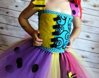 Sally Tutu dress | Doll inspired Tutu Dress|  Costume| | Newborn-Adult listing