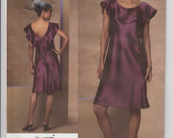 ToM AND LiNDA PLATT VOGUE Pattern 1138 sizes 14-22 Perfect Date Dress Easy Sewing