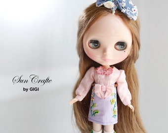 "Handmade Neo Blythe Outfits ""The Sweet Garden "" 2016 by Sun-Crafte"