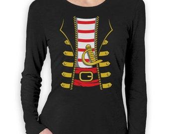 Pirate Halloween Costume - Women's Long Sleeve T-Shirt
