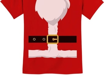 Santa Suit - Funny Christmas - Youth Short Sleeve T-Shirt