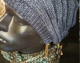 Men's Merino Wool Slouchy Hat