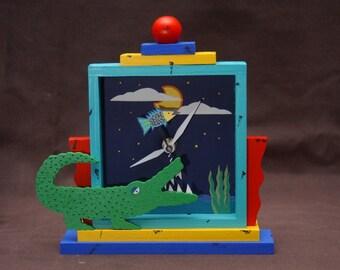 Gator clock