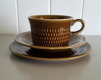 Stavangerflint Tea Cup Saucer Side Plate Set Norway