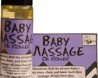 Lavender Baby Oil Roller | Lavender for Baby | Best Baby Shower Gift |  All Natural Baby Products | Baby Massage | Infant Massage Oil