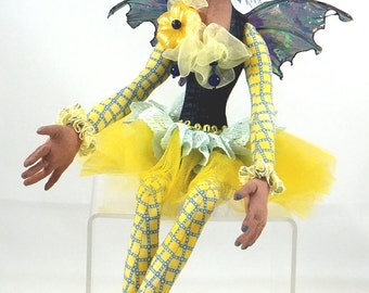 Art Doll-Orinda the Faery OOAK Cloth Doll