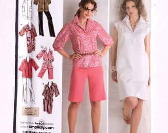 Simplicity 2894, Women's Dress, Tunic, Pants, Shorts Pattern, Size 20W, 24W, 26W, 28W, Uncut, Factory Fold