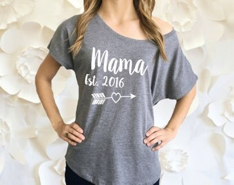 Mama Established Shirt. New Mom Shirt. Mommy To Be Shirt. Pregnancy Announcement Tee Shirt. Mommy Established Shirt. Pregnancy Photos.