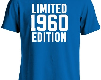 57th Birthday Shirt-Limited Edition 1960 Gift for 57th Birthday Gift Tshirt For Him