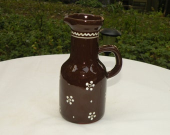 "Vintage Ceramic Cruet 6"" Tall"