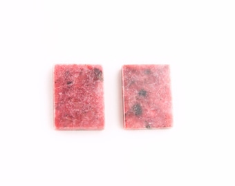 Rectangle Rhodonite Cabochon 20x15mm
