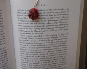 Red Buddha Bookmark