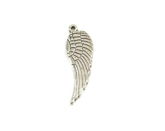 Add on large angel wing Charm