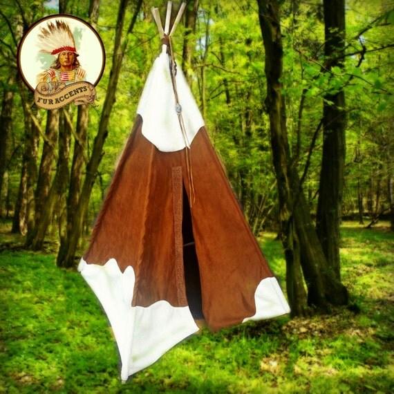 6' Kids Play Tent Indian Tee Pee Custom Ltd By FurAccents