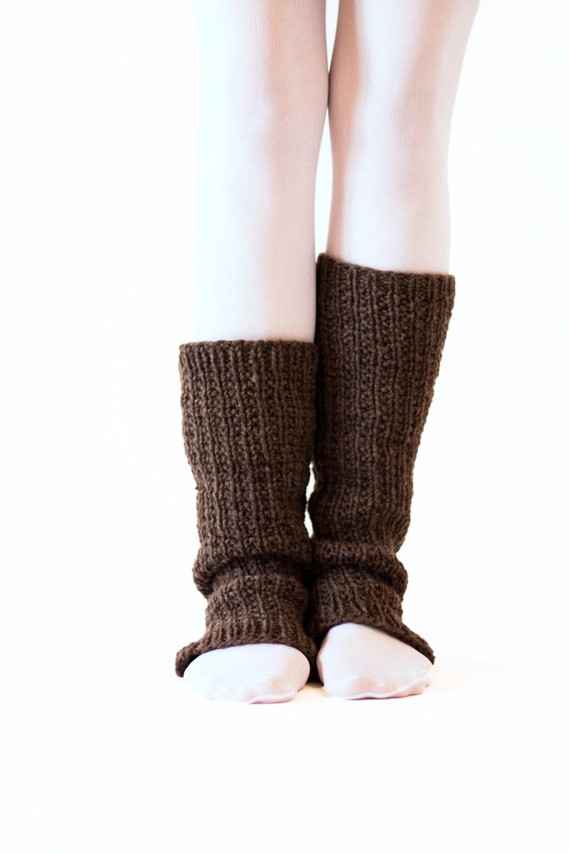 Knitted Dresses Patterns : Dance Slouchy Leg Warmers Knitting Pattern FAITHFULNESS a